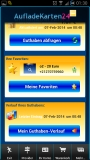 aufladeguthaben Mobile App. for Android